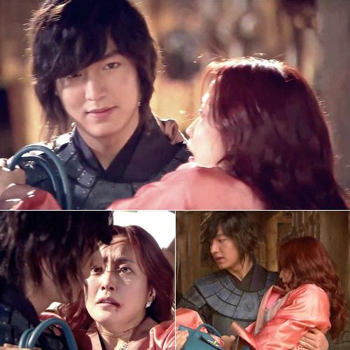 15 cảnh tình tứ của Lee Min Ho - Kim Hee Sun trong Faith