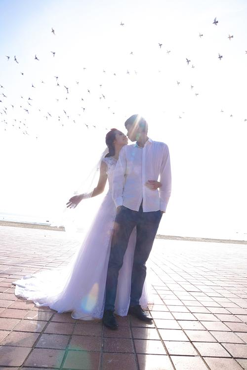 Khoảnh khắc hạnh phúc rạng ngời của cặp đôi