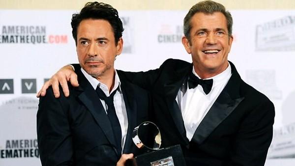 Robert Downey Jrvà Mel Gibson.