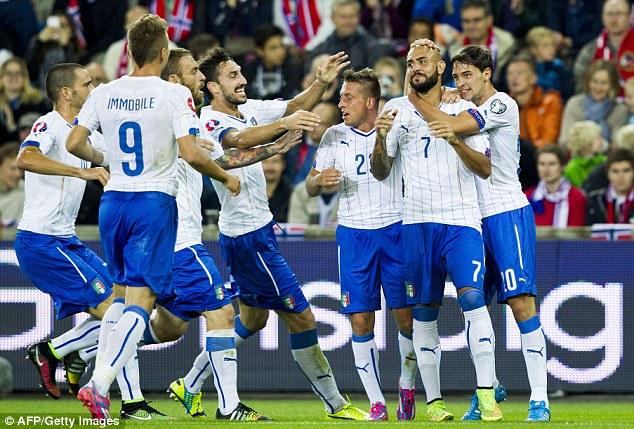 Italy có chiến thắng thứ 2 liên tiếp dưới thời HLV Conte