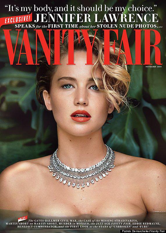 Jennifer Lawrence được lựa chọn là gương mặt trang bìa của Vanity Fair số mới nhất. Sau chiến thắng tại Oscar 2013, cô hiện được xếp vào danh sách những diễn viên trẻ có nội lực của Hollywood.