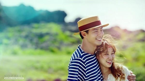 Jo In Sung và Gong Hyo Jin trong phim.