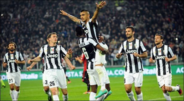 Juventus đang toàn thắng tại Serie A