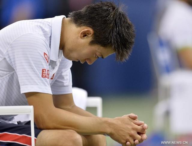 Kei Nishikori đã bị choáng ngợp bời trận chung kết US Open 2014