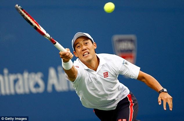 Kei Nishikori phải thi đấu hơn 18 giờ qua 7 trận đấu tại US Open 2014