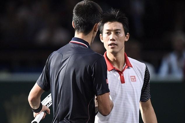 Nishikori tâm phục khẩu phục trước Novak Djokovic