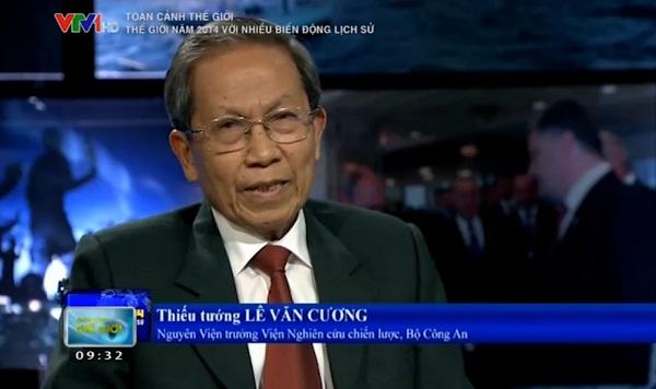 Thiếu tướng - Lê Văn Cương - Nguyên Viện trưởng Viện nghiên cứu chiến lược - Bộ Công an