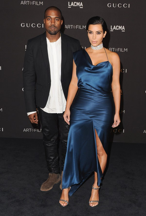 Vợ chồng Kim Kardashians và Kanye West