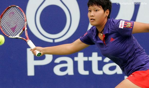 Kumkhum đã có một trong những trận đấu hay nhất trong sự nghiệp của mình tại Australia Open 2014.