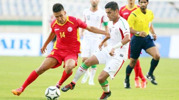 Olympic Kyrgyzstan sở hữu lối chơi rất khó chịu