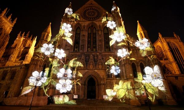 Một trong những tác phẩm đặc sắc tại Lễ hội ánh sáng Lumina.