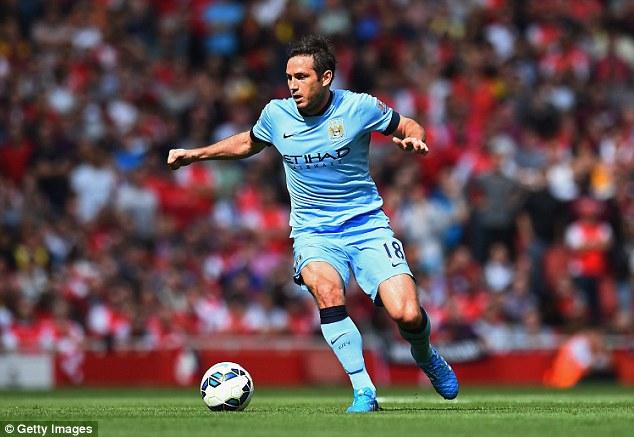 Frank Lampard đã ghi được 4 bàn thắng cho Man City