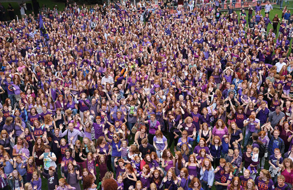 Lễ hội thu hút hàng nghìn người từ khắp nơi trên thế giới. (Nguồn: Theo Dailymail)