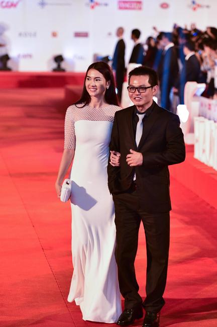 NSƯT Trung Hiếu và người mẫu kiêm diễn viên Anh Thư.