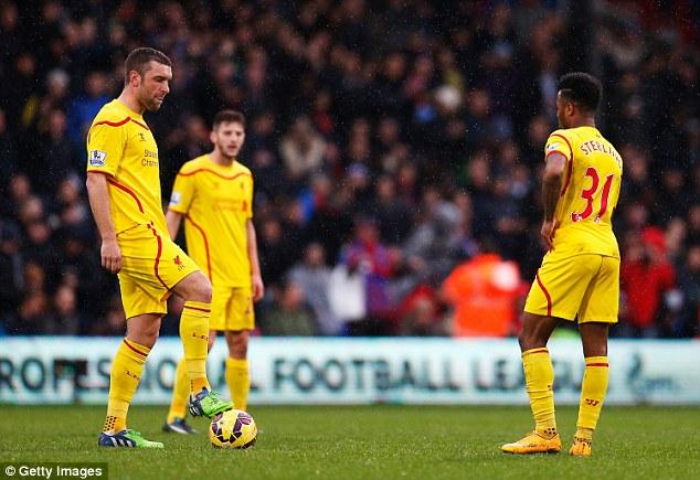 Liverpool đã thua 6 trận sau 12 vòng đấu tại Premier League