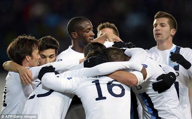 Man City bước vào trận đấu quyết định tại UEFA Champions League