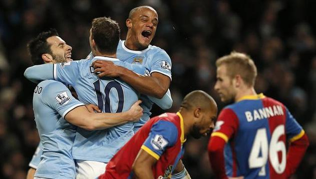 Man City đã toàn thắng Crystal Palace trong 8 trận đối đầu gần đây