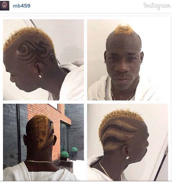 Kiểu đầu mới của Mario Balotelli