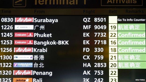 Bảng thông báo lịch chuyến bay tại Changi Airport, Singapore.