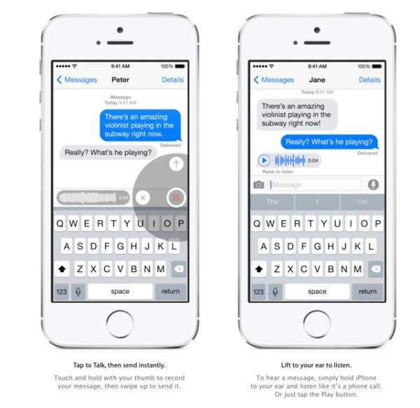 Người dùng có thể ghi âm lời nói và gửi trực tiếp cho bạn bè