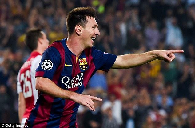 Messi - người con ưu tú của lò La Masia vẫn tiếp tục cống hiến cho Barca.