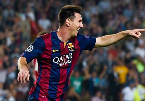 Messi ghi được 74 bàn thắng/91 trận tại Champions League