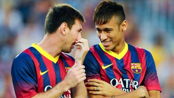 Messi và Neymar đang trở thành bộ đôi cực kỳ ăn ý tại La Liga.