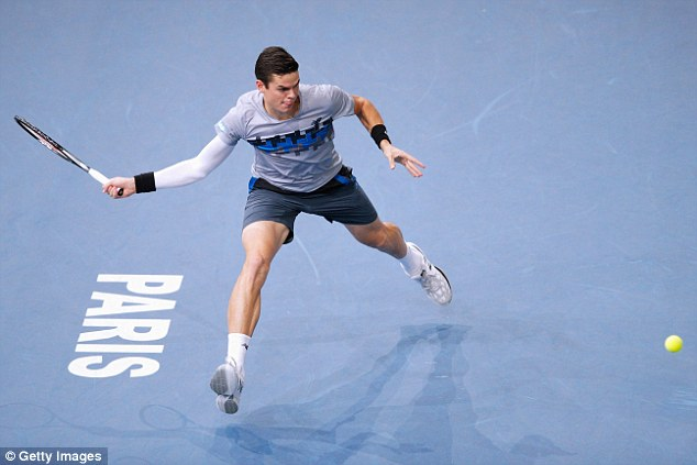 Milos Raonic vừa gây sốc khi đánh bại Federer