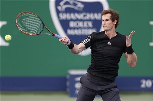 Murray đã phải dừng bước tại vòng 3 Thượng Hải Master 2014
