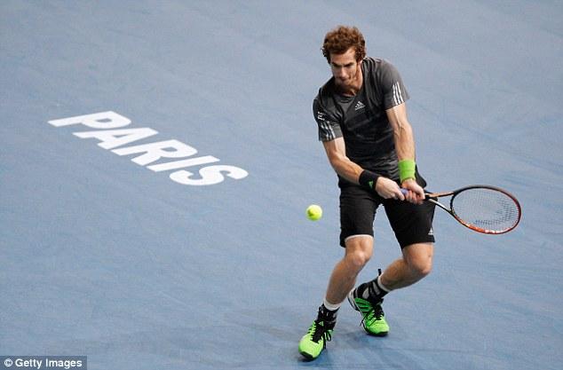 Murray chỉ còn cách ATP World Tour Finals một chiên thắng