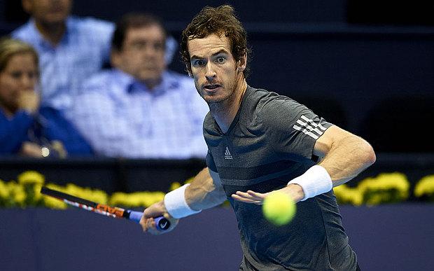 Andy Murray đã chính thức có tấm vé tham dự ATP World Tour Finals