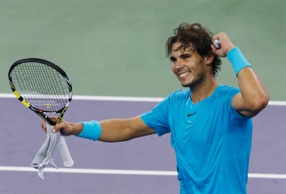 Rafael Nadal vừa trở lại sau 3 tháng do chấn thương cô tay