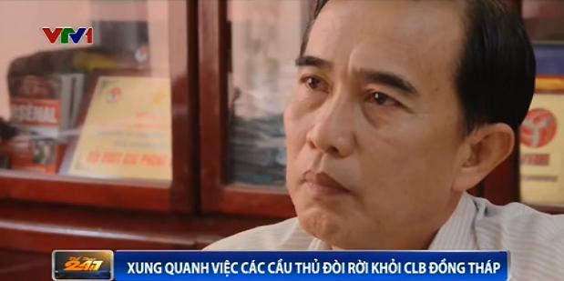 Ông Lê Ngọc Chức - Giám đốc điều hành CLB Đồng Tháp.