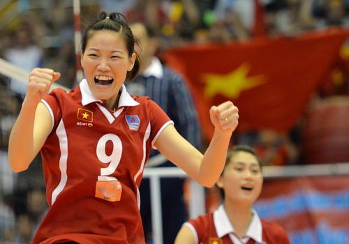 Chủ công Ngọc Hoa không tham dự Cup bóng chuyền châu Á 2014