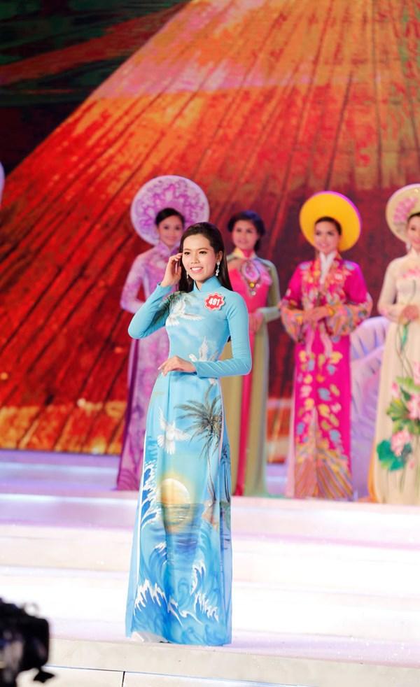 Nguyễn Huỳnh Trúc Mai - Người đẹp áo dài