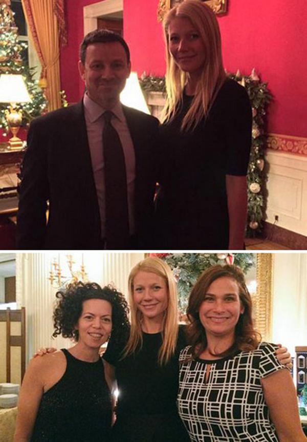 Nữ diễn viên Gwyneth Paltrow tổ chức tiệc với bạn bè, đồng nghiệp và những người hâm mộ. Là một người tích cực tham gia các hoạt động từ thiện, Gwyneth cũng mời cả một số nhà hoạt động xã hội tham dự tiệc của mình.