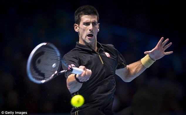 Novak Djokovic tỏ ra quá mạnh so với Stan Wawrinka