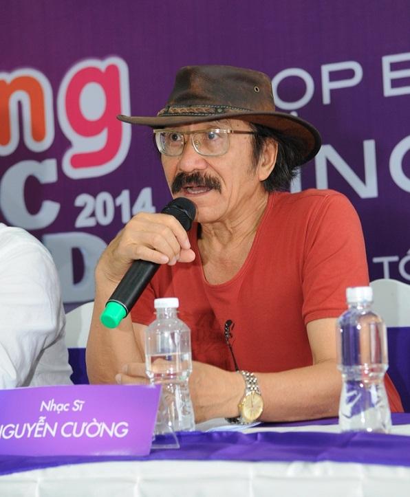 Nhạc sĩ Nguyễn Cường, chủ tịch HĐNT Zing Music Awards