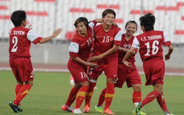 Đội tuyển bóng đá nữ bước vào trận đấu quyết định