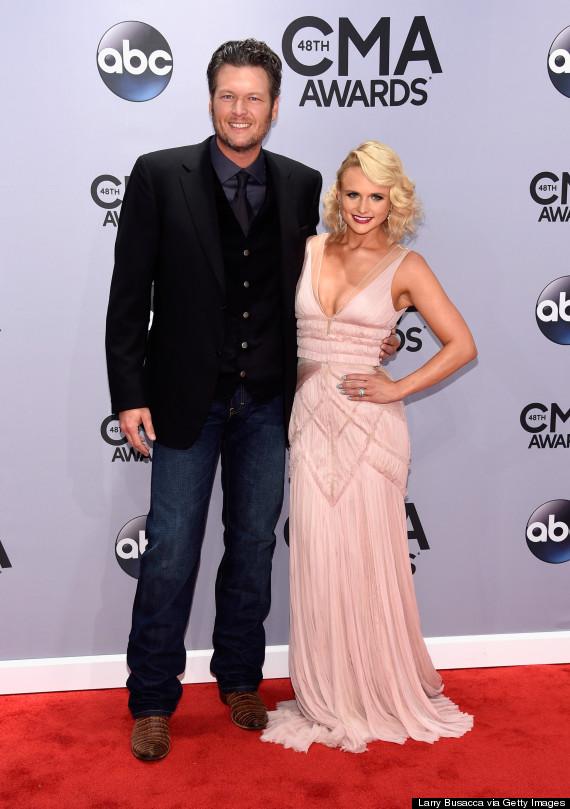 HLV The Voice Blake Shelton bên cạnh người vợ xinh đẹp Miranda Lambert