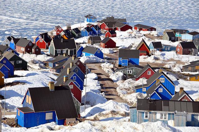 Qaqortoq sở hữu vẻ đẹp rất đặc biệt.