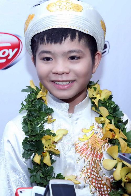 Quang Anh - Quán quân Giọng hát Việt nhí mùa đầu tiên