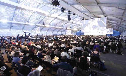 Hội nghị chống biến đổi khí hậu của LHQ lần thứ 20 (COP-20) tại thủ đô Lima của Peru. (Ảnh: VOV)
