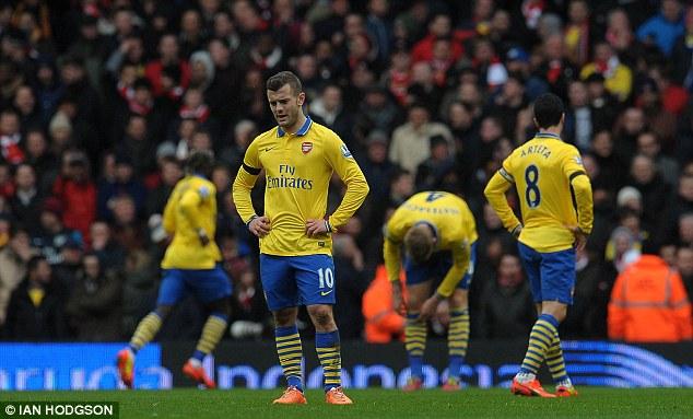 Arsenal đang có phong độ không tốt