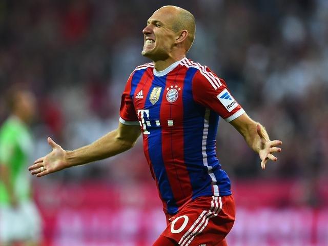 Mất Franck Ribery song Bayern có sự trở lại của Robben