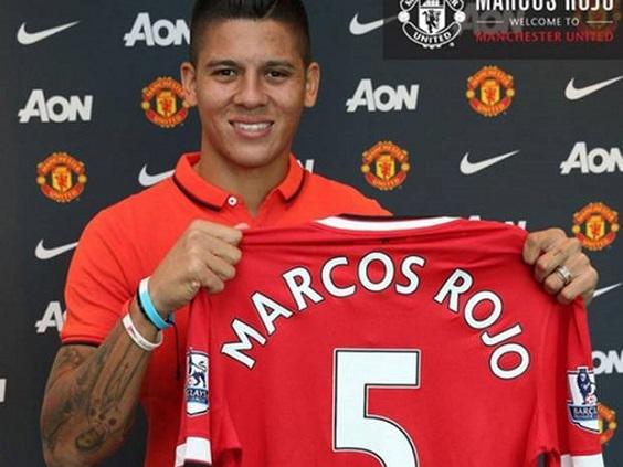 Marcos Rojo đã được cấp giấy phép lao động tại Anh