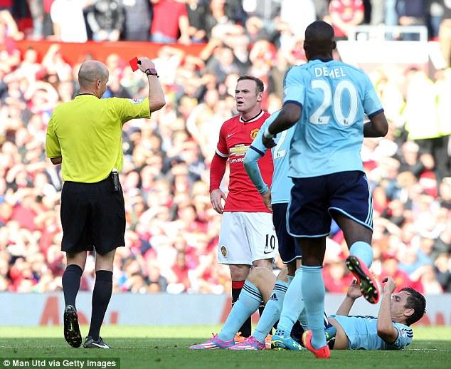 Sau án phạt treo giò 3 trận vì nhận thẻ đỏ trận West Ham, Rooney sẽ trở lại vào cuối tuần này.