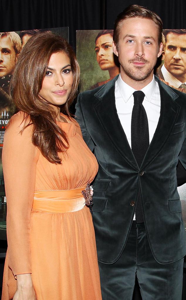 Eva Mendez và Ryan Gosling trong buổi công chiếu bộ phim The Place Beyond the Pines mà họ thủ vai chính