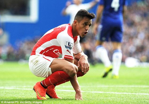 Phong độ của Sanchez vẫn là một dấu hỏi lớn tại Emirates