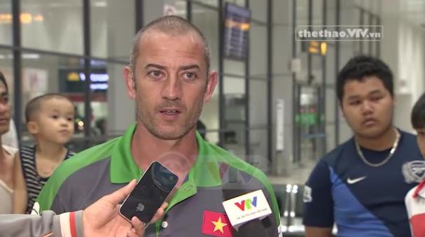 HLV Guillaume Graechen tỏ ra tự tin trước giải đấu tại Hà Nội